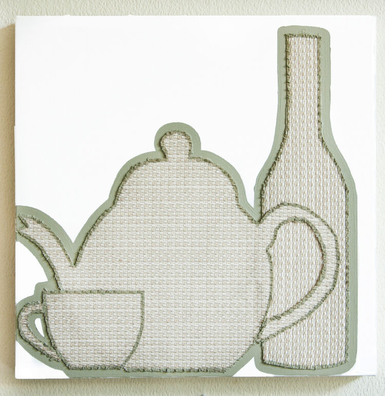 Fabrics - Teapot and bottle