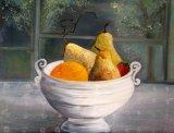 - Fruit in White Porcelain -