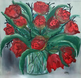 - Red Tulips -