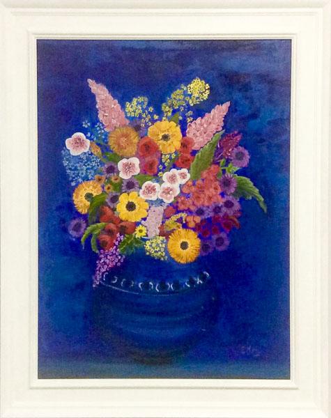 - The Blue Bouquet -