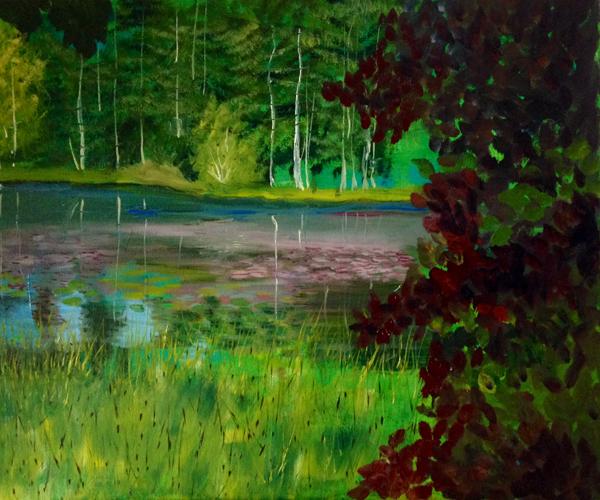 - The Mountain Lake -