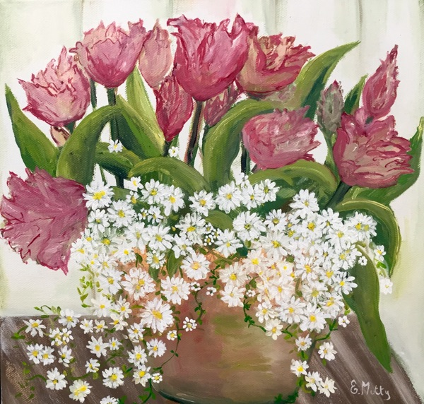 - Tulips and Daisies -
