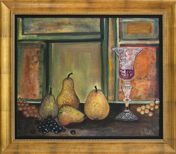- Pears with Wine -