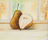 - Pears at the Window -