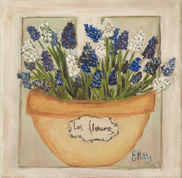 - Grape Hyacinthes -