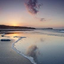 Cayton Bay reflections