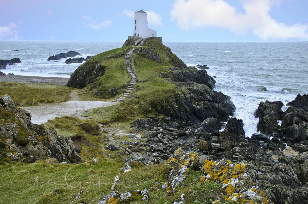 Llanddwyn island lighthouse, Anglesey
