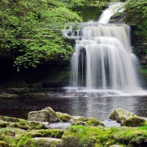 Cauldron falls, West Burton