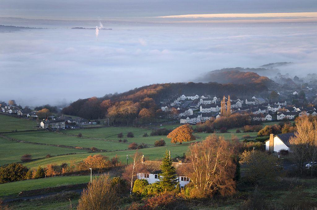 Mist over Huddersfield