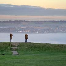 Mist towards Emley Moor
