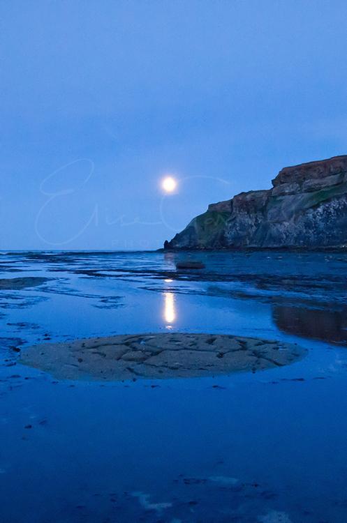 Moonlight over Saltwick Bay