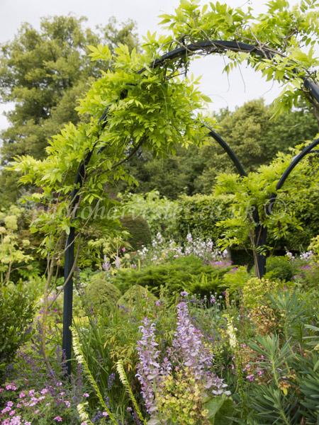 Chenies Manor Garden in the Frame