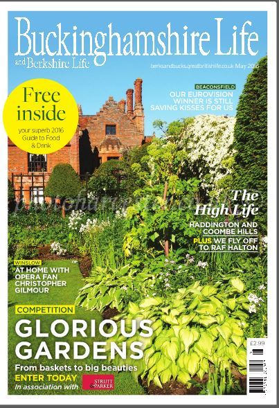 Front Cover of Buckinghamshire Life,May 2016