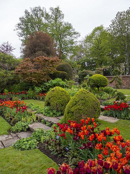 Chenies Sunken Garden steps