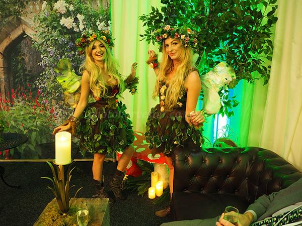 Fairies posing at Hunton Park