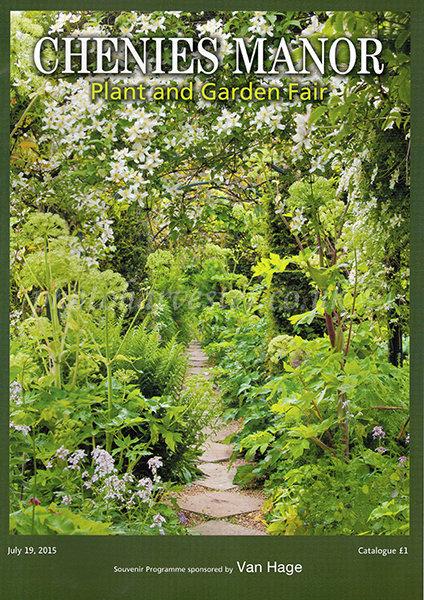 Chenies Manor Plant Fair 2015