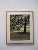 Tree (mounted and framed)