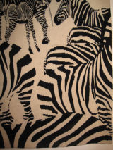 Zebras (detail) - zebra mix