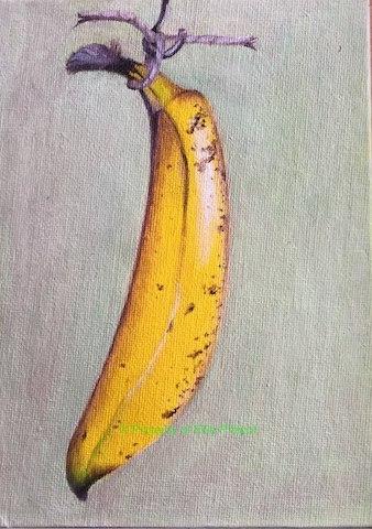 Hanging banana