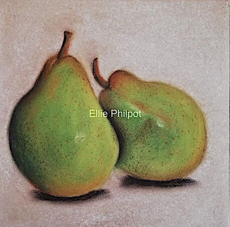 Leaning Pears Two.