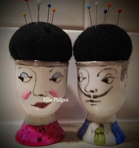 Mr or Mrs Pin Cushions