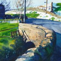 Paul Talbot-Greaves - Spring Light Slowly Melting the Last of the Snow