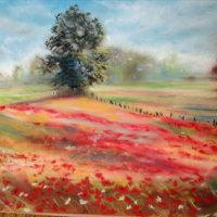 Jo Scarffe's Pastel Painting