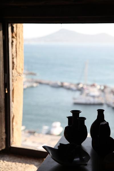 Ceramic art at Venetian museum, Naxos, Greece