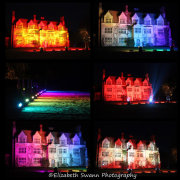 The House in different lights