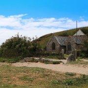 Gunwalloe church