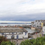Overlooking St Mawes towards Falmouth