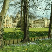 St Johns College, Springtime in Cambridge