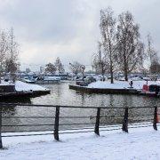 Snowy Riverside