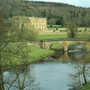 Chatsworth House from a distance