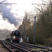 Tornado 60163 in Cambridgeshire