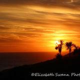 Sunset over Saunton Down