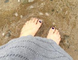 My Feet in the Sea