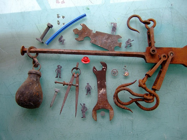 Tools used to make the carriageworks design