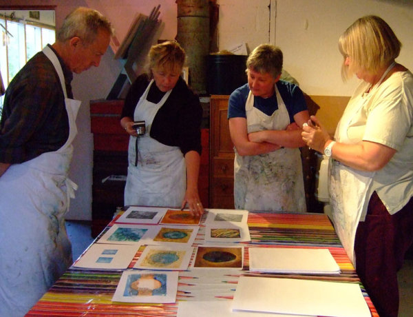 Extending Collagraph printing; 2 days