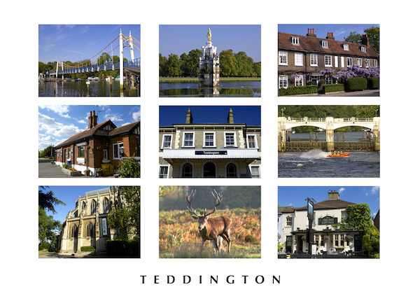 POSTCARD - Teddington montage