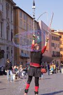 'Bubble' street artist
