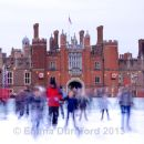 Ice Skating at Hampton Court Palace - day