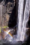Vernal Falls double rainbow