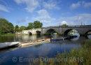 Richmond Bridge in Summer