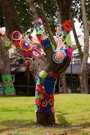 Crochet graffiti