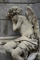 Cherub in La Recoleta cemetery