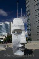 East 2 West Source Point sculpture