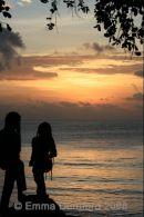 Sundown over Mahe