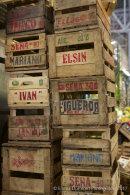 San Telmo market crates