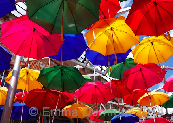 Umbrellas at Borough